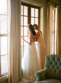 cute shot for the bride and maid of honor - maybe at the top of the steps since we'll be in a room upstairs?