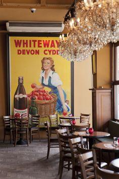 #cafe #vanzanten #vintage #interior