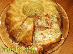 ΣΥΝΤΑΓΕΣ ΤΗΣ ΚΑΡΔΙΑΣ: Ζυμαρικά με λαχανικά σε φόρμα Main Dishes, Side Dishes, Pasta, Cheese Pies, Party Buffet, Group Meals, Greek Recipes, Bon Appetit, Guacamole