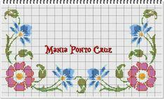Cross Stitch Borders, Cross Stitch Flowers, Cross Stitch Designs, Bullet Journal, Embroidery, Charts, Cross Stitch Art, Xmas Cross Stitch, Embroidery Stitches