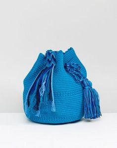 Jardin Del Cielo Blue Small Mochilla Bag