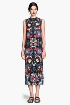 Vestido estampado de punto | H&M