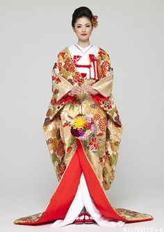 Japanese Wedding style by Beau depart. Kyoto Japan. Kimono