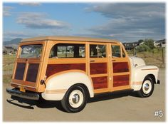 '51 GMC Woody Handcrafted Masterpiece