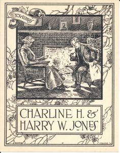 The Bookplates of Donn P Crane