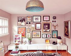 definitely want a pale pink room for myself one day. Ornate Modern