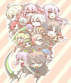 Seraph of the end chibi