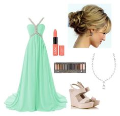 """bridesmaid"" by princessjace on Polyvore- could work for prom as well"