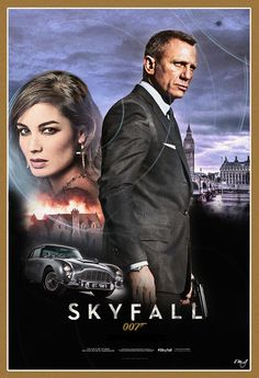 Skyfall. I'm a die-hard Sean Connery fan, but this was the best James Bond movie ever!!!