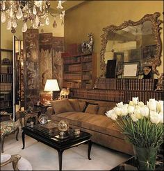 Coco Chanel Apartment Sitting Room