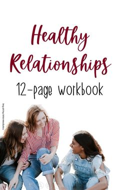 This 12-page healthy relationships workbook is perfect for middle school! Covers trust, abuse, internet safety, and online relationships. Features texts, comprehension questions, and reflection pages. Great for grades 5-8! Health Class, Health Lessons, Health Education, Online Relationships, Healthy Relationships, Middle School Health, Rights And Responsibilities, Reflection Questions, Internet Safety