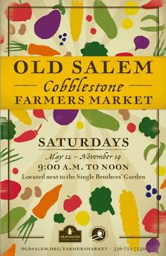 Old Salem Cobblestone Farmers Market! - Dovecote Decor