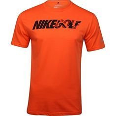 Nike Camo Tee Golf Shirt 2015 Electro OrangeBlack Large * Check out the image by visiting the link.