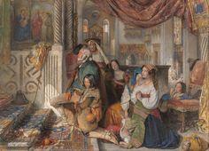 John Frederick Lewis Pellegrini ciociari in Roma 1854
