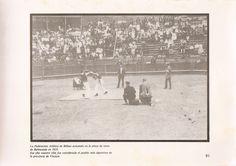 Federación Atlética de #Bilbao actuando en la plaza de toros de #Balmaseda en 1919.  Ese año nuestra villa fue considerada el pueblo más deportivo de la provincia de Bizkaia