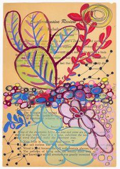 Botanical Study Foliage Fine Art Giclee Print by kipi on Etsy