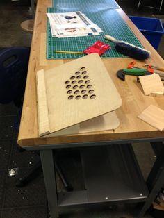 Hand Made Wooden Ergonomic Laptop Stand