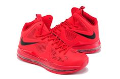 LeBron 10 EXT Suede Black and Red