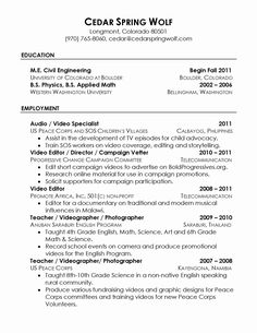 Resume Reference Page Setup Job Hunting Reference Page