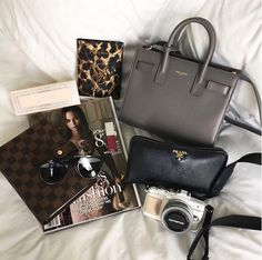 Untitled on We Heart It , what's in my bag?