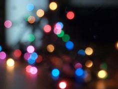 KNOW AND TELL CRAFTS: Bokeh for Non SLR Cameras...