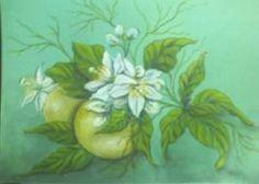 pinturas de la flor del azahar - Buscar con Google
