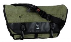 army tent to messenger bag