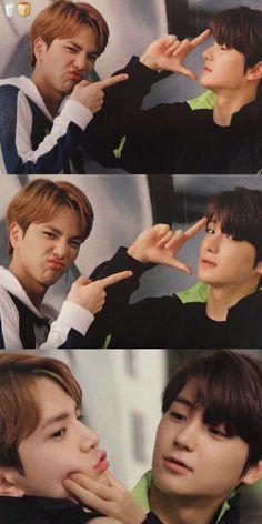 The boyz Younghoon & Hyunjae New Boyz, Rainbow Photography, Kim Young, Walpaper Black, Hyun Jae, All About Kpop, Fandom, Hip Hop, Kpop Couples
