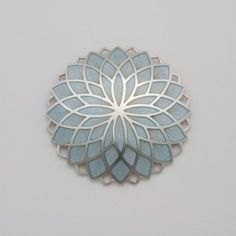 floral fractal design