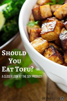 Tofu has long been revered for its hefty dose of protein- but is it healthy? We've broken down whether or not you should be eating this vegetarian staple.