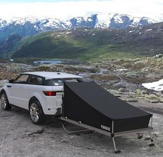 Sweden-based Kaesar Design has partnererd with world's leading manufacturer of outdoor accessories 'Thule' for an instant camping project #homecrux #instantcamping