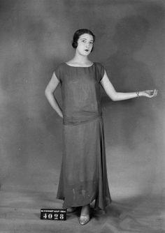 Madeleine Vionnet daté de 1924