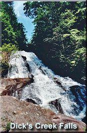 Dick's Creek Falls  - North Georgia