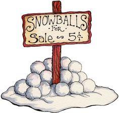 Snowballs #clipart