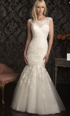 Allure Bridals 9025: buy this dress for a fraction of the salon price on PreOwnedWeddingDresses.com
