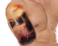 Lightning Bolt Tattoo Meaning and Really Creative Design Ideas - Thoughtful Tattoos
