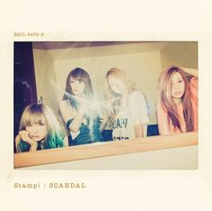 SCANDAL - Stamp! [Type A](SINGLE+DVD) (First Press Limited Edition)(Japan Version)