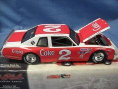 Action Collectibles 1:24 Scale Die-Cast Dale Earnhardt #2 Coke 1980 Pontiac Ventura Stock Car/Bank