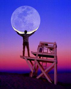 Cool moon!