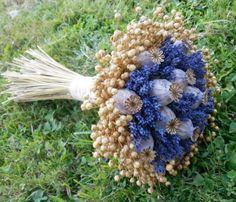 Lavender Poppy / Seller 's Goods Lavender Crafts, Lavender Flowers, Bridal Flowers, Dried Flowers, Yellow Bouquets, Floral Bouquets, Dried Flower Arrangements, Flower Company, Arte Floral
