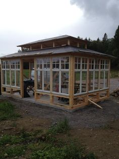 Greenhouse shed, Garden room, Conservatory garden, Greenhouse Shed, Greenhouse Gardening, Window Greenhouse, Carport Plans, Garden Room Extensions, Conservatory Garden, Garden Studio, Glass House, Outdoor Rooms