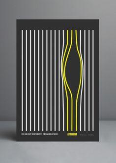 Amnesty International Free Angola 3 Poster on Behance Optical Illusion Poster Design, Graphic Design Posters, Graphic Design Inspiration, Creative Inspiration, Book Design, Design Art, Shape Posters, Political Posters, Amnesty International