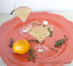 gin meyer lemon cocktail