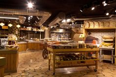 Berman's Bakery flagship store by Studio Yaron Tal, Jerusalem ... The store was designed in a ruff industrial look and yet rustic and warm. Flour bags were created especially with a real and authentic look.