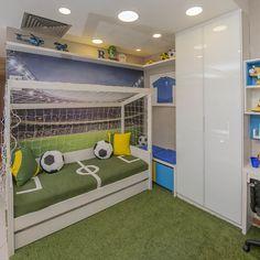 35 Coolest Soccer Themed Bedroom Ideas For Boys Baby Boy Room Decor, Boys Bedroom Decor, Kids Bedroom Furniture, Baby Boy Rooms, Bedroom Themes, Girls Bedroom, Furniture Nyc, Bedroom Ideas, Furniture Stores