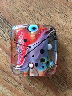 Glitter Focal made by Caroline Dousi by carolinedousi on Etsy