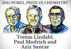 Le prix Nobel de chimie 2015 pour des travaux sur la réparation de l'ADN