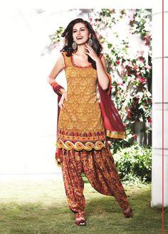 Papayawhip Cotton Short Punjabi Salwar Kameez 15539