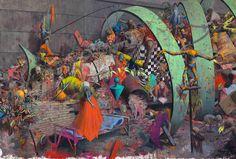 Ausstellung in Hamburg jonas burgert schutt und futter Vertreter aktueller Figuration vom 22. februar 2013 bis zum 28.4.2013 - freundederkuenste.de