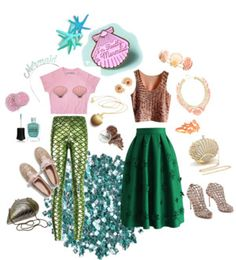 Check out these creative Halloween costume DIY ideas for men and women, which are already in your closet (just in case you waited until the last minute). Mermaid Halloween Costumes, Creative Halloween Costumes, Diy Costumes, Halloween Diy, Cute Outfits For School, Cute Winter Outfits, Spring Outfits, Work Purse, Mermaid Diy